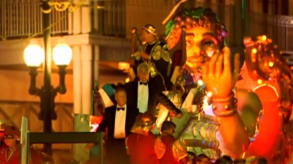 New Orleans getting creative for Mardi Gras: Thousands of houses decorated as floats