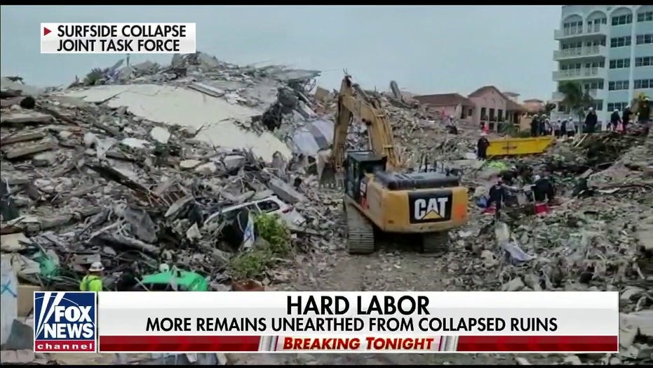 Cat found at condo collapse site after more than 2 weeks: 'This is a miracle'