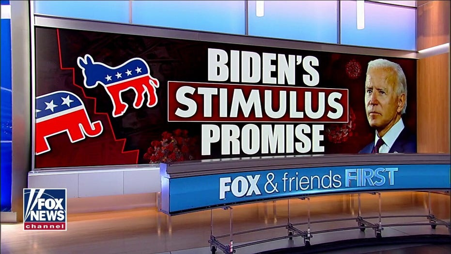 Democratic Party tweet accused of contradicting Biden's original promise for third, $2000 stimulus check