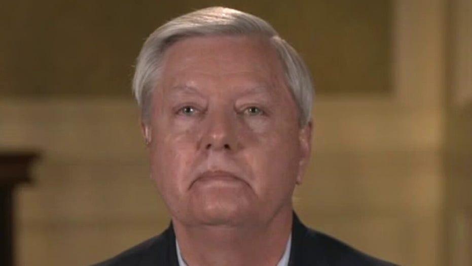Sen. Graham's message to Biden: 'Stand down' on Trump impeachment