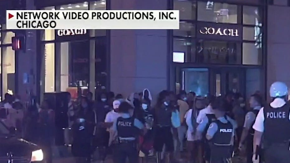 Chicago rocked by night of looting and violence after police-involved shooting