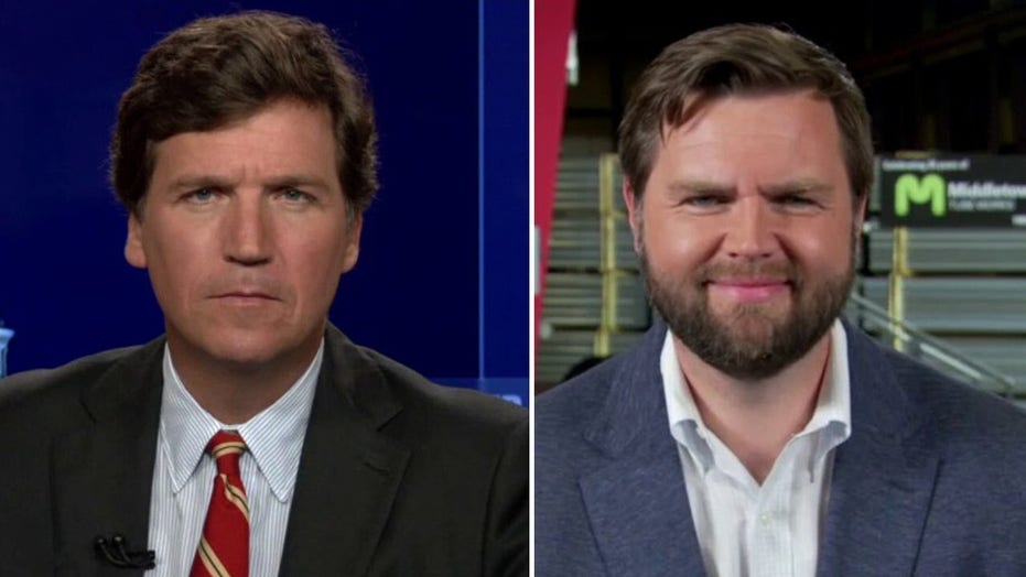JD Vance joins 'Tucker Carlson Tonight' after announcing Senate run