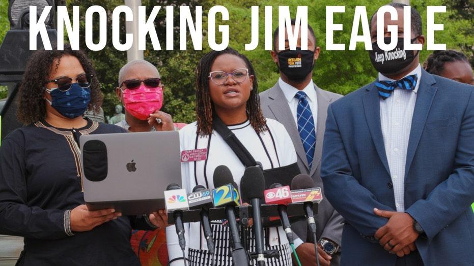 Knocking Jim Eagle