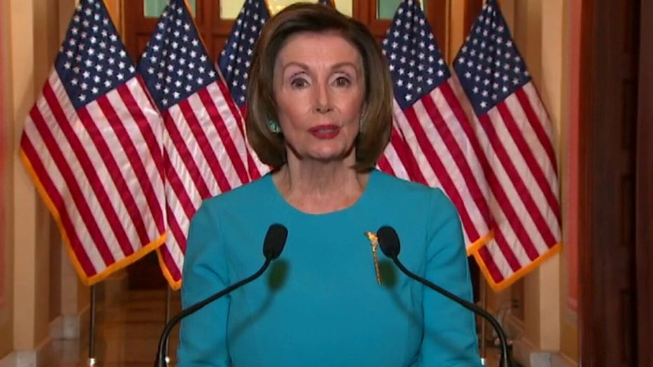 Pelosi on Trump: 'His earlier delay and denial caused deaths