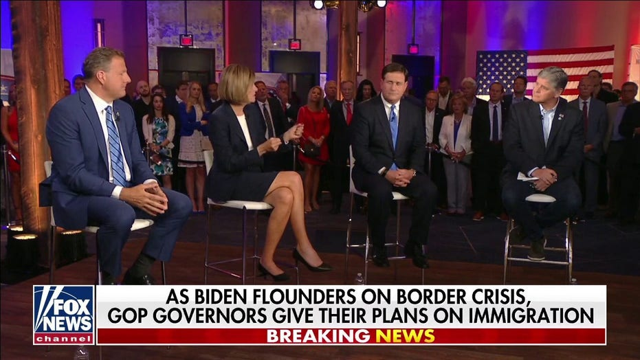 GOP governors on 'Hannity': Biden making them 'pay the price' for being fiscally responsible