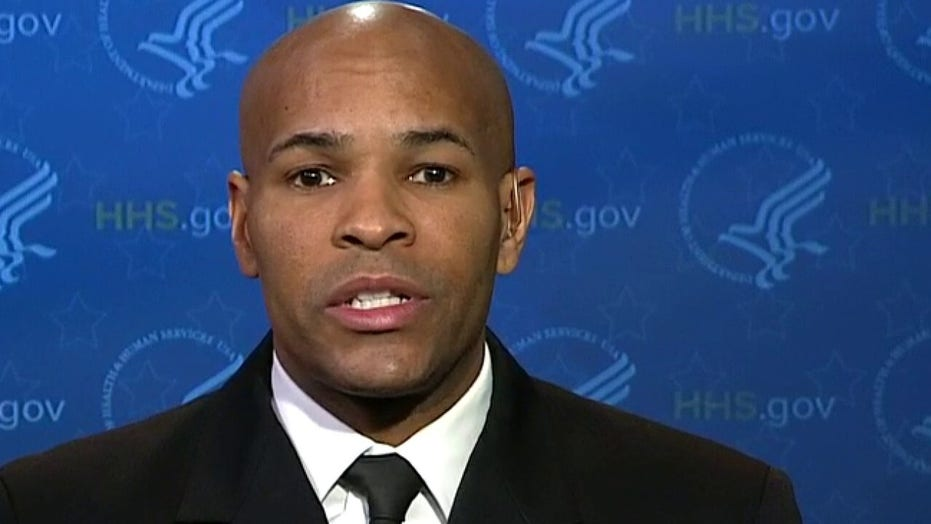 U.S. Surgeon General: 'The data doesn't show' that wearing masks helps people during coronavirus pandemic