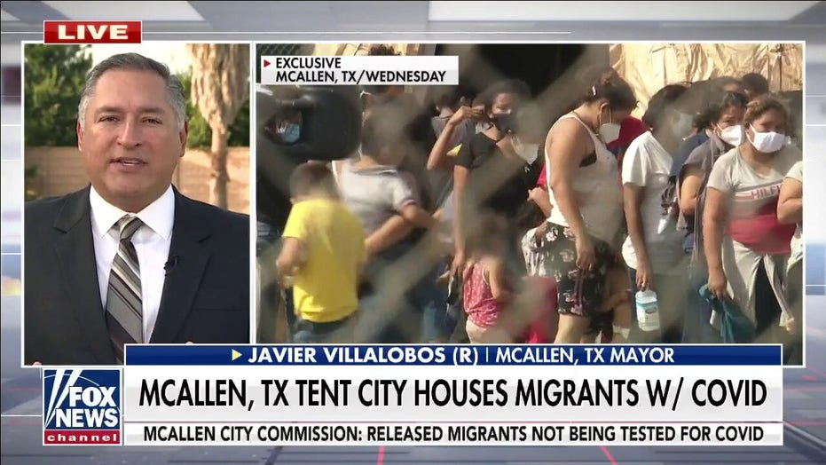 Texas border mayors sound alarm on COVID migrant crisis, declare disaster: We're at a 'breaking point'