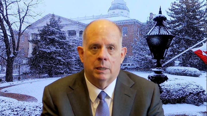 Hogan warns Biden on COVID bill 'loaded up like a Christmas tree' with liberal goodies: 'Get rid of all that'