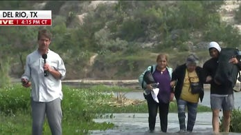 'The Five' reacts to video of migrants crossing in broad daylight