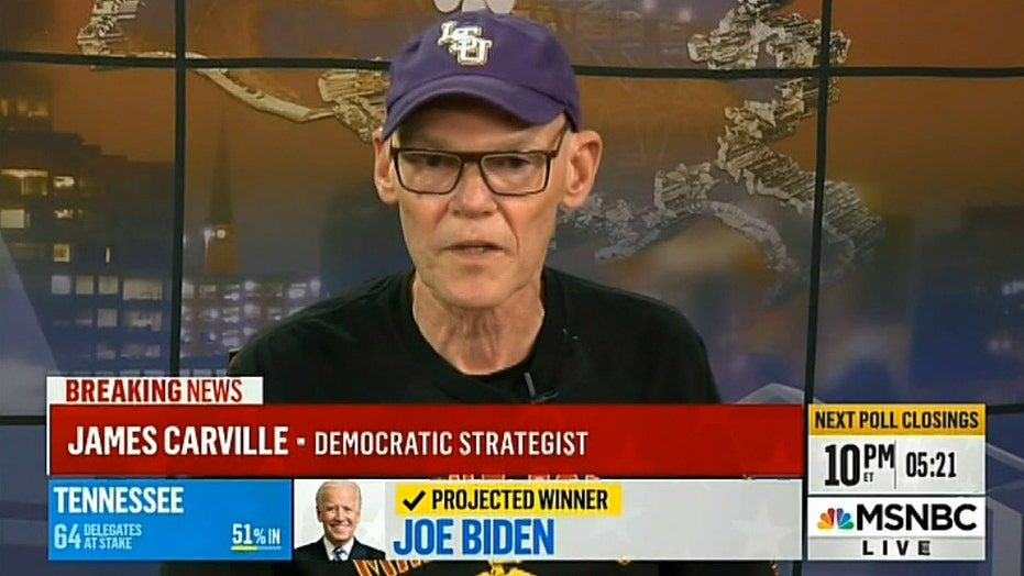 James Carville is not worried about recounts: 'Beat him twice'