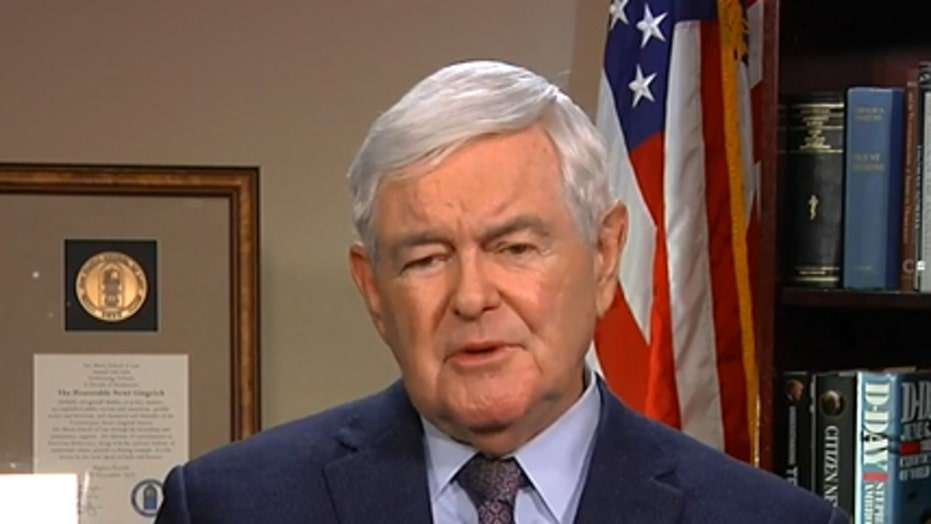 Newt: 'Trump is an enormous figure around the world'