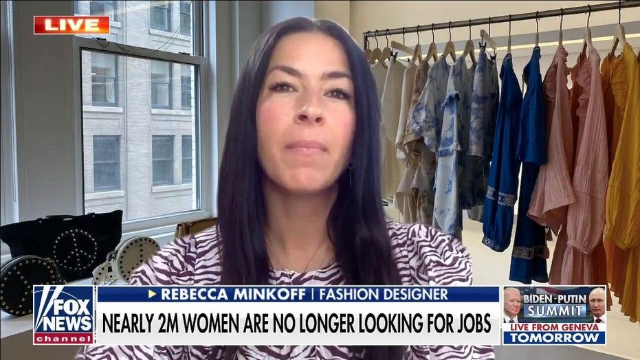Fashion designer says pandemic had 'nightmarish' impact on women in workforce
