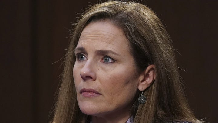 Media slams Amy Coney Barrett for refusing to details views in hearings
