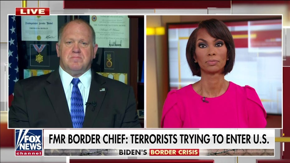 Tom Homan sounds alarm on 'national security crisis' at open southern border