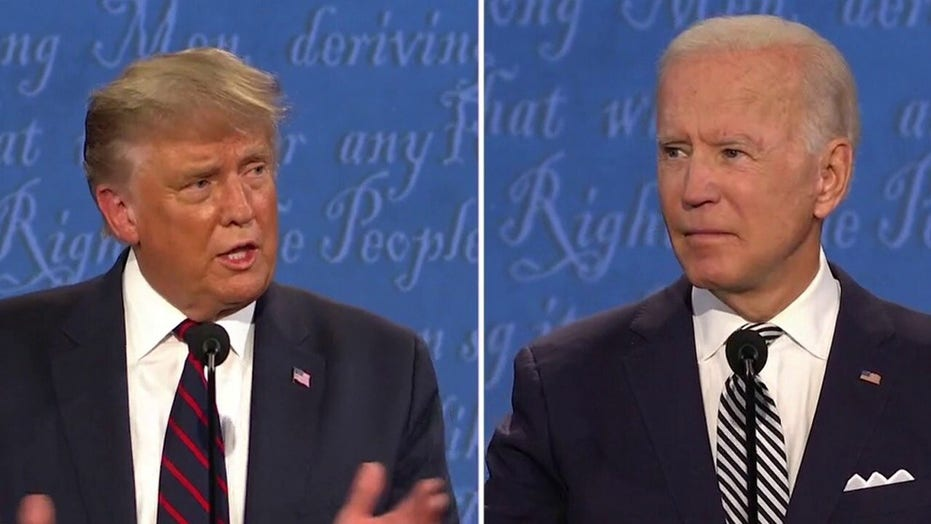 Trump and Biden debate law and order in America