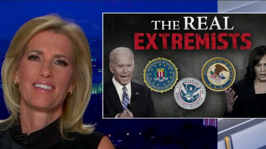 Ingraham warns Biden using federal government power to 'harass and investigate his political adversaries'