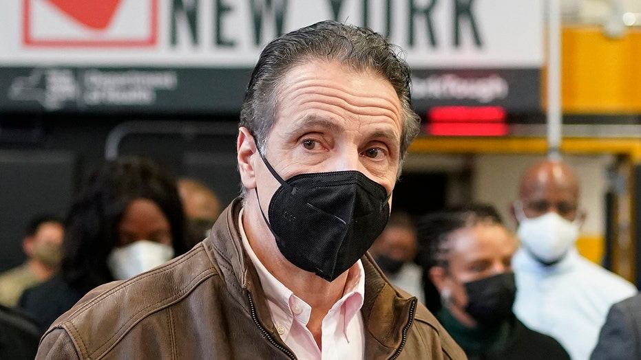 Cuomo raises eyebrows with 'anatomy' joke during vaccination tour