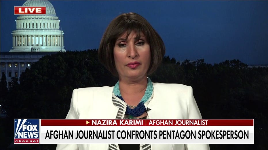 Afghan journalist who confronted Pentagon spokesman: 'This is the same Taliban'