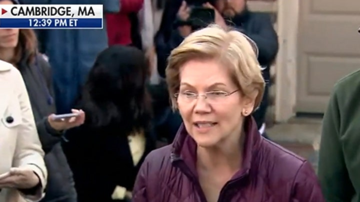 Warren: Don't have to decide who to endorse at this minute
