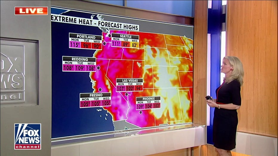 National weather forecast: Seattle, Portland likely to have hottest days ever today