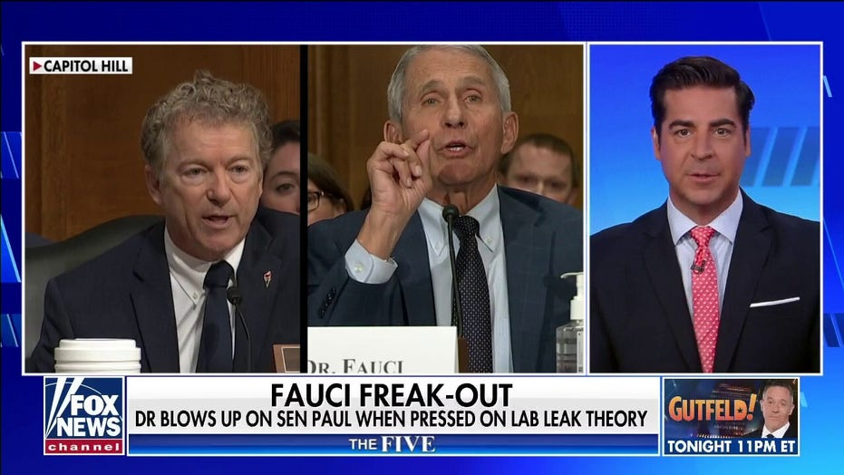 """'The Five' reacts to Fauci's 'Clintonian' fireworks with Sen. Paul: 'Depends on the definition of 'is"""""""