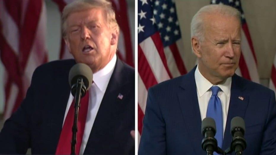 지우다, Biden do walk-throughs ahead of first presidential debate