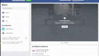Facebook removes pro-Trump ad aimed at Biden