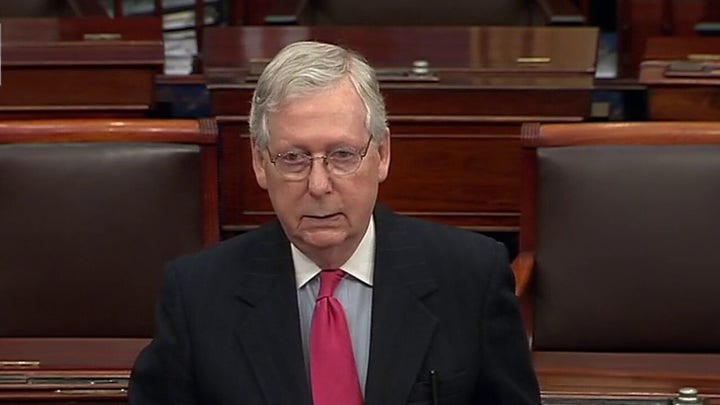 Mitch McConnell: America will win coronavirus fight because of the people, not Washington