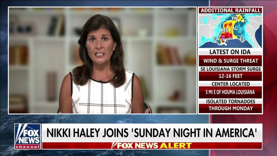 Haley: US allies are 'having conversations without us' over Biden's 'beyond disgusting' withdrawal