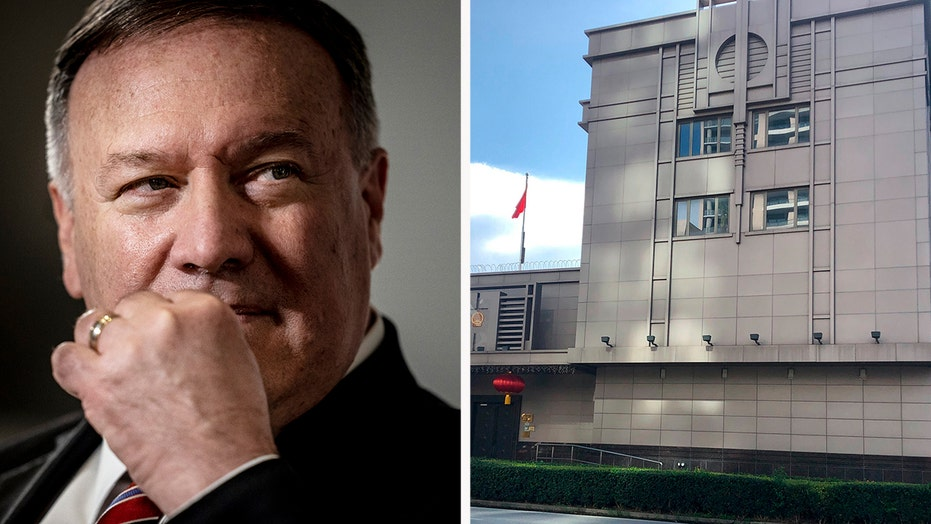Houston consulate was epicenter of research theft by China, State Department says