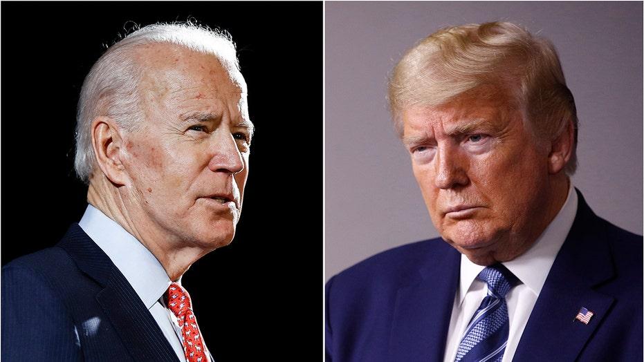 Trump and Biden, both in Florida, court crucial senior voters