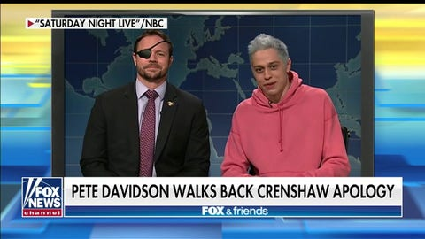 Rep. Dan Crenshaw on Pete Davidson walking back apology