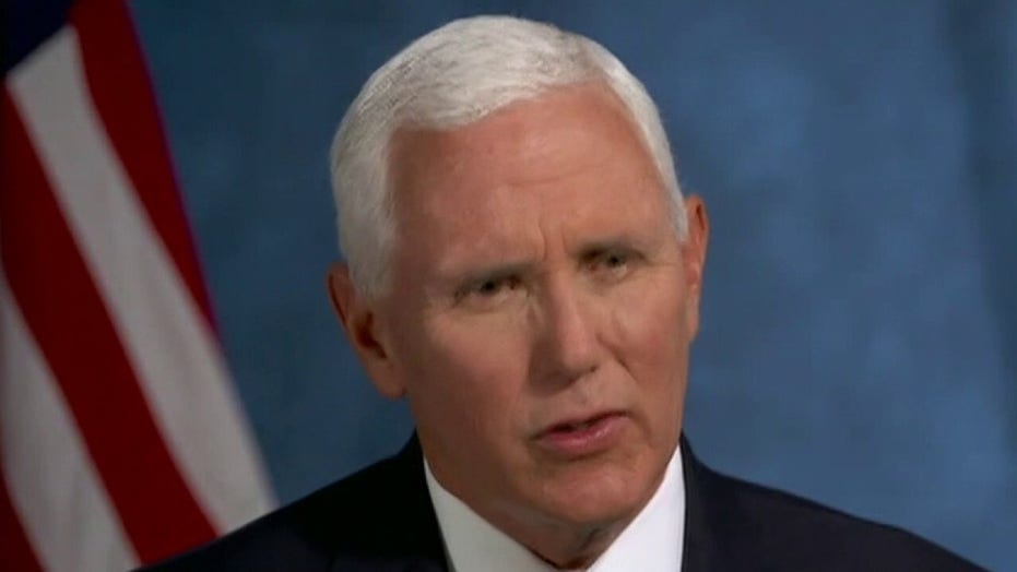 Pence reflects on lessons of 9/11, hopes for 'lasting peace' in Afghanistan
