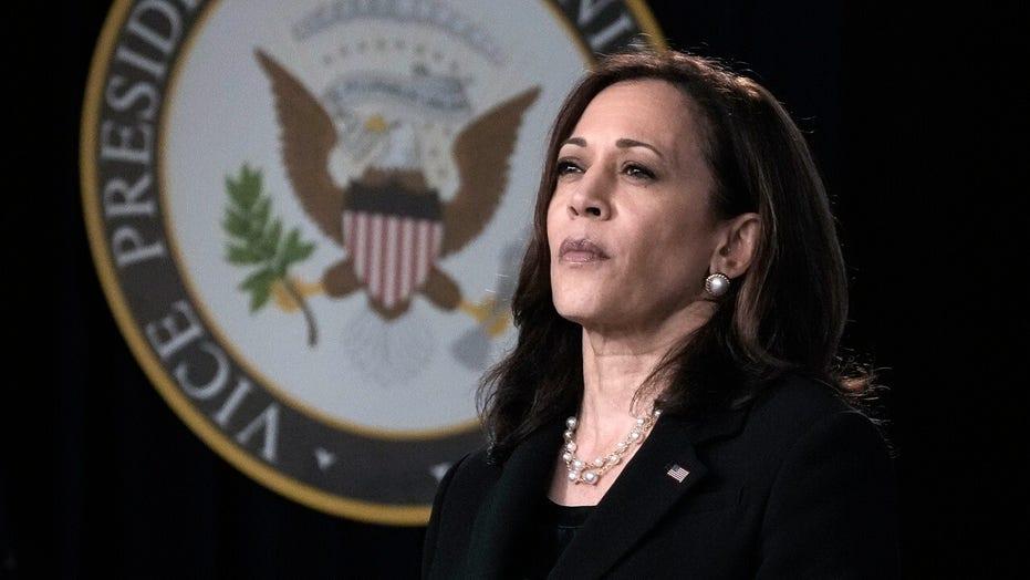 Harris 'optimistic' House will pass $1 trillion bipartisan infrastructure bill