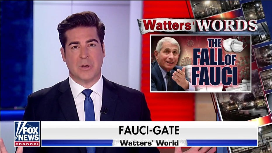 Jesse Waters: 'The Fauci era is officialy over'