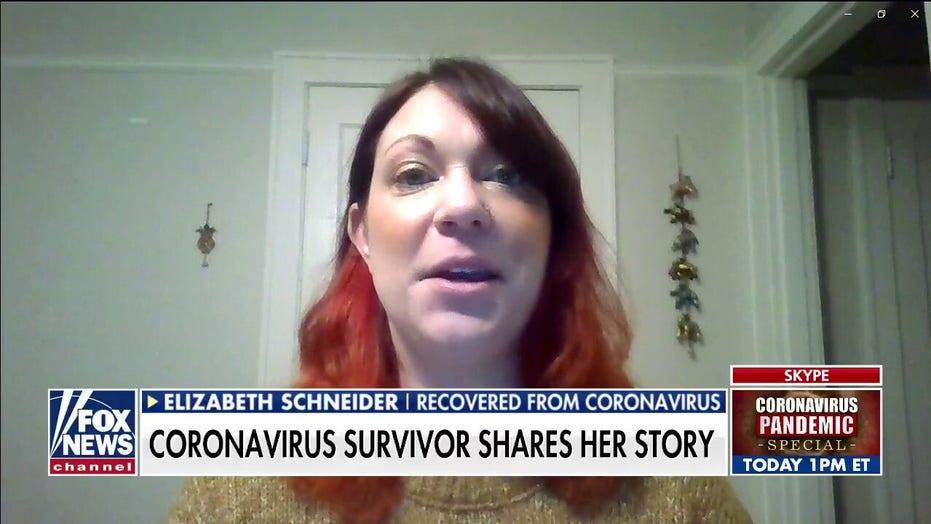 Coronavirus survivor shares her story