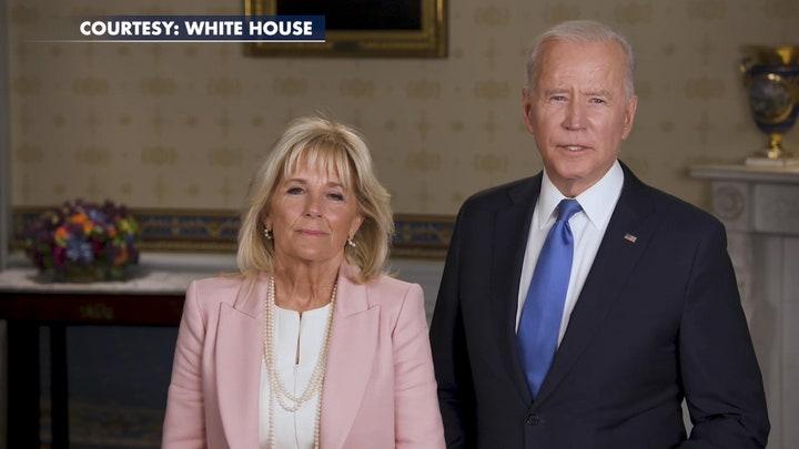 Biden sends 'warmest greetings' to those celebrating Eid, references Israeli-Palestinian conflict