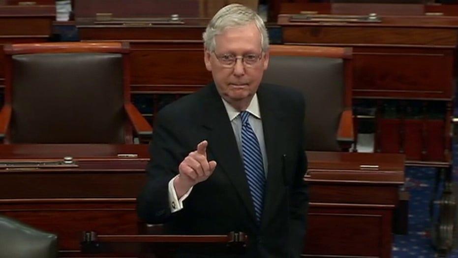 Chad Pergram: 'Verbal open brawling on Senate floor'