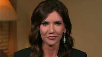 Tucker asks Noem if she is 'caving to the NCAA' over bill banning transgender women from girls' sports