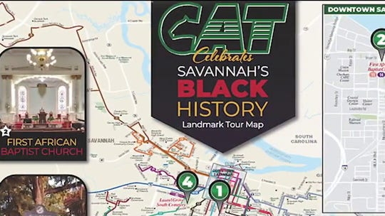 Lawrence Jones highlights Savannah, Georgia Black History Month celebration