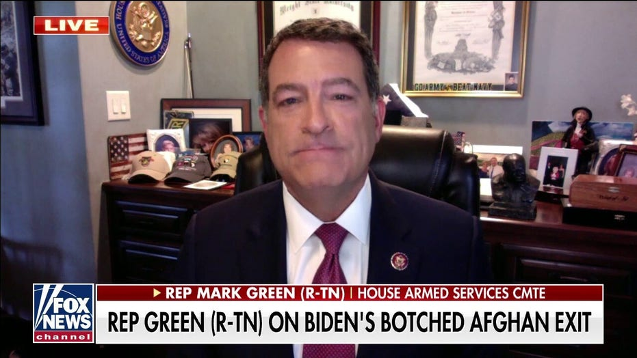Rep. Green joins calls for resignations of Biden officials: 'Nothing but failure from this administration'