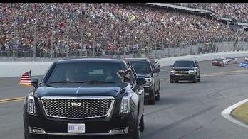 NASCAR fans in awe after Trump visits Daytona