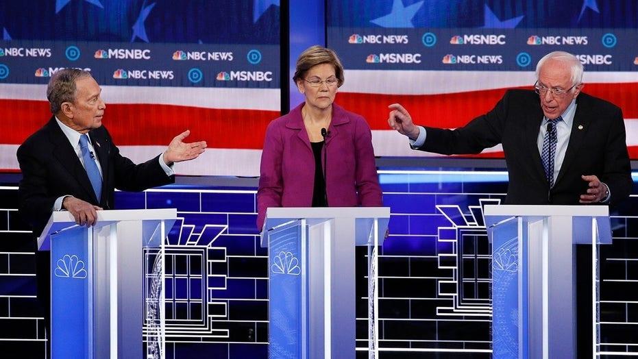 Fight night in Las Vegas: Bloomberg gets pummeled on Democrat debate stage
