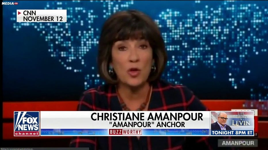 CNN's Christiane Amanpour regrets comparing Trump presidency to Nazis' Kristallnacht