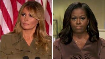 Comparing Melania Trump and Michelle Obama's convention speeches