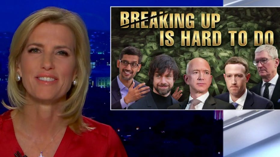 Ingraham: Too-powerful tech oligarchs silence GOP while giving full reign to China, radical Islamists