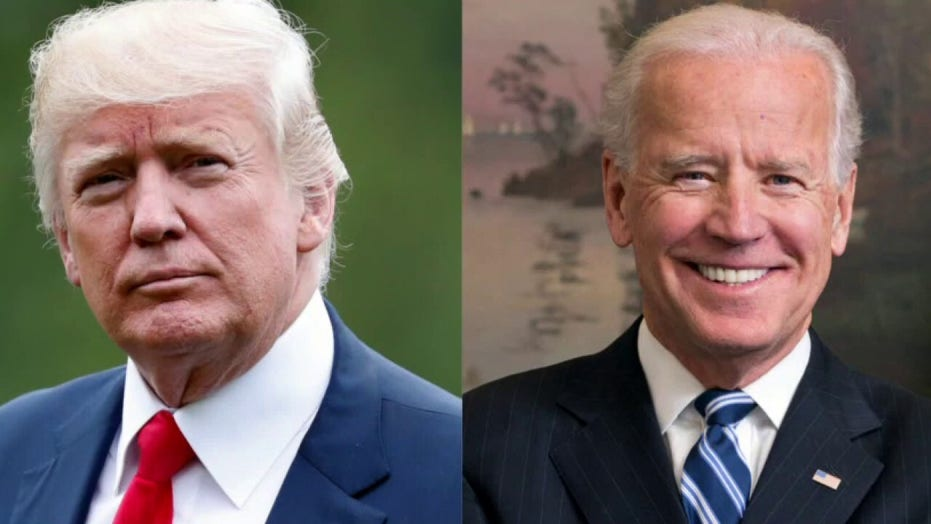 Trump, Biden compete for ratings in dueling televised town halls