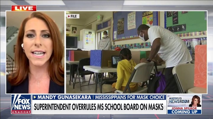 Mississippi parents pushing governor to ban mask mandates in schools