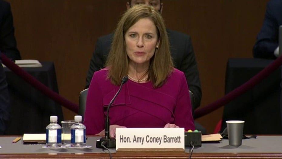 Barrett, Senate prepare for grueling second day of Supreme Court confirmation hearing
