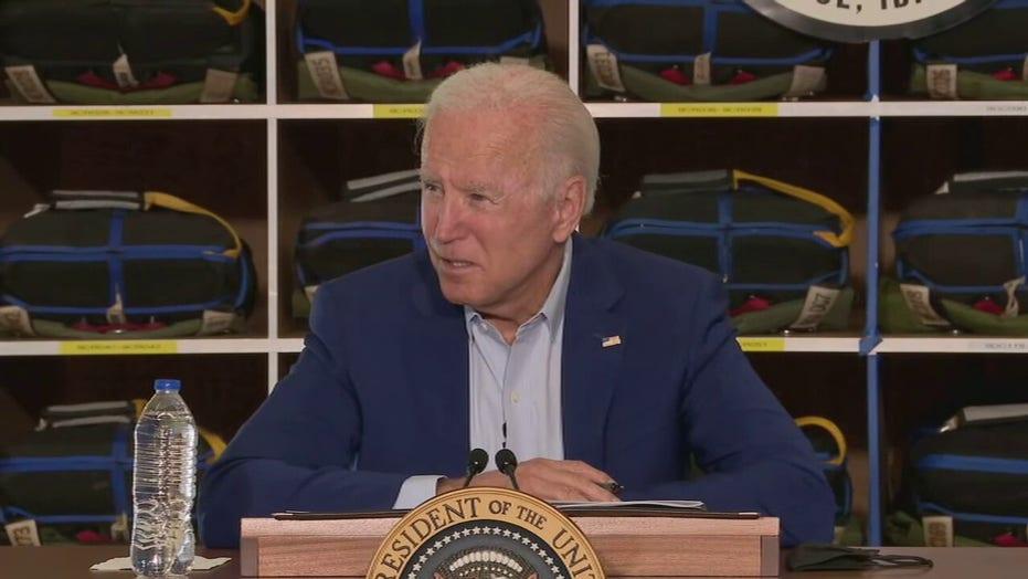 Biden blames Idaho wildfires on global warming